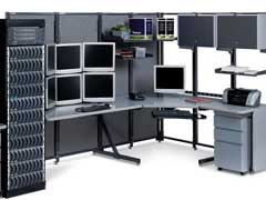 compupter and network furniture