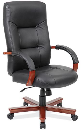 Express Office Furnishings Eof 5621chy Cherry Highback