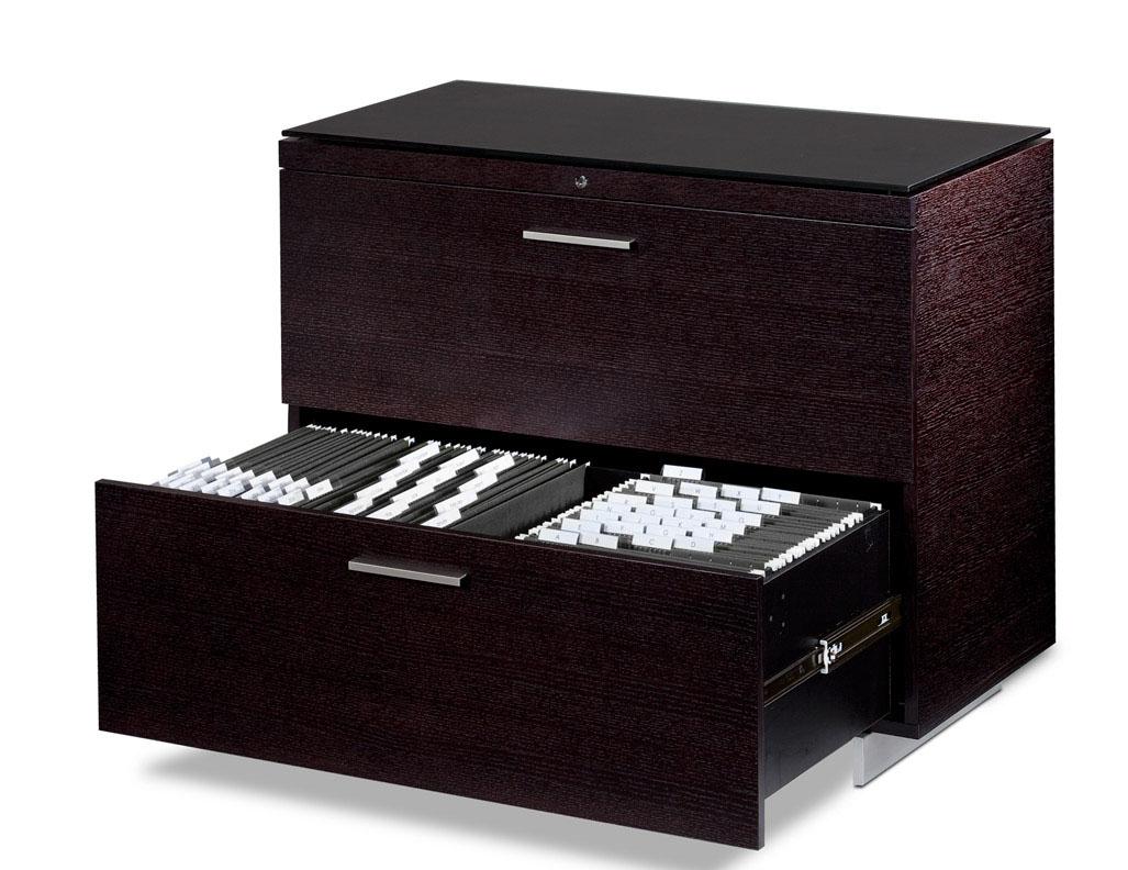 BDI 6016 Sequel 2 Drawer Locking Lateral File Cabinet