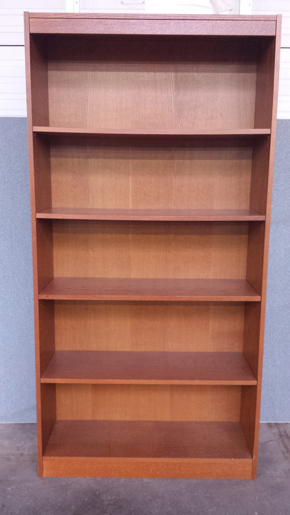 Used Closeout Amp Seconds Ucs 72wbc Wood Bookcase 72 Quot