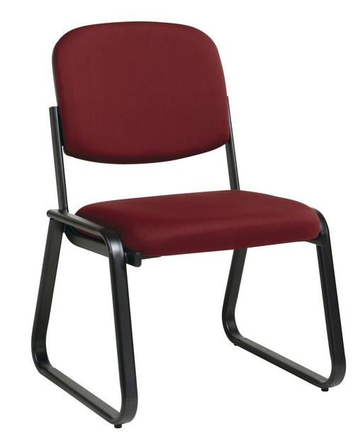 Delta Seating DSC-ASBS44 Sled Base Armless Metal Frame Side Chair