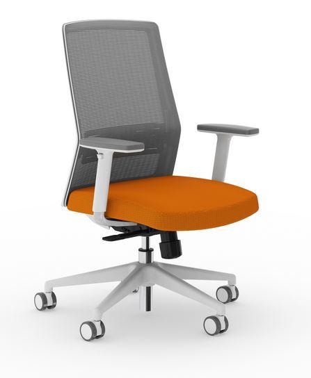Amq Solutions Amq Bodi 1 Lg Bodi Task Mesh Chair Grey Frame