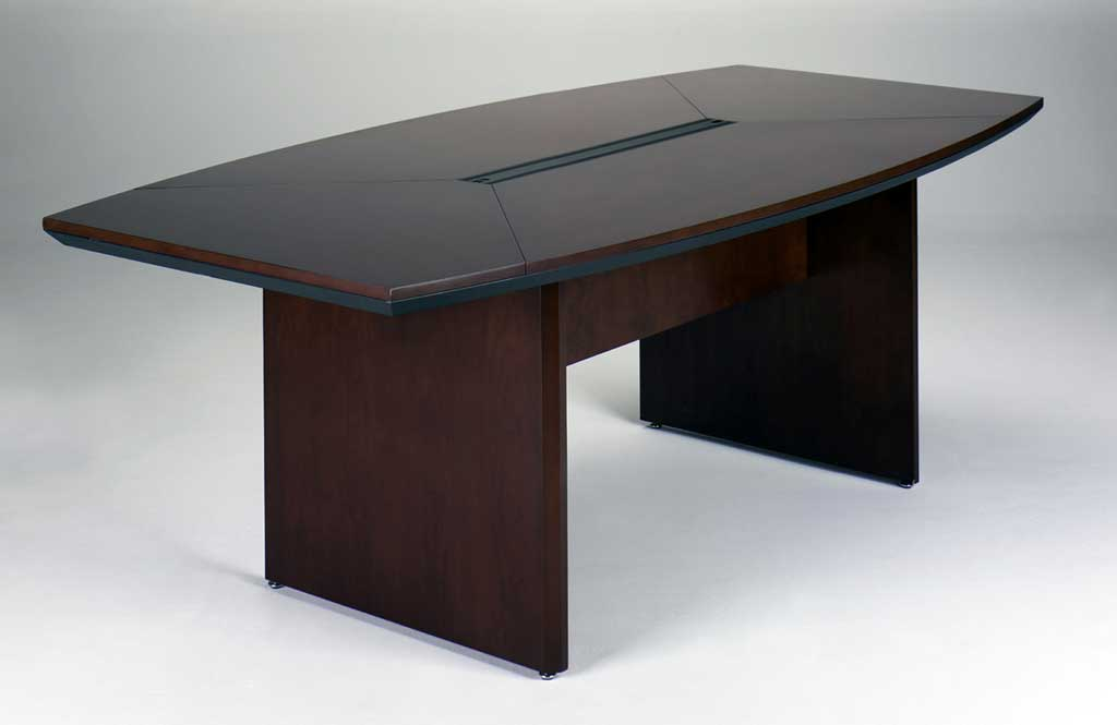 May Ctc84 Corsica 7 Foot Wood Conference Table