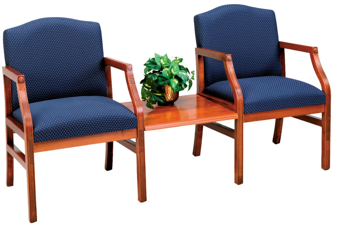 Lesro Lsr H2111g5 Hartford Series 2 Chairs With Connecting