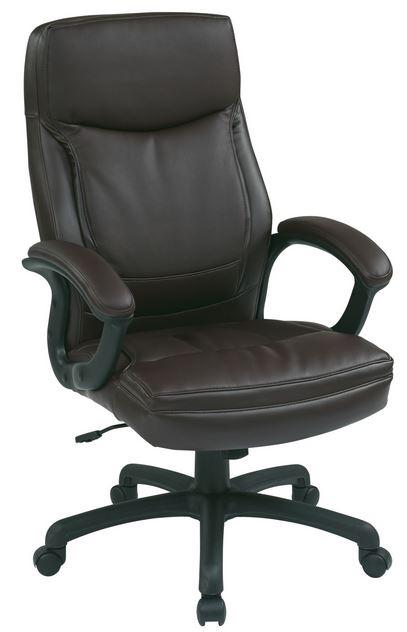 delta seating dsc l385bur high back burgundy leather office desk chair