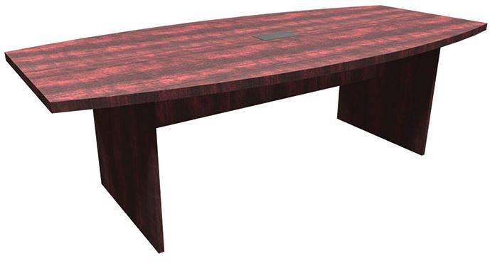 Express Office Furnishings EOFLPBS Premier Foot Racetrack - 8 foot office table