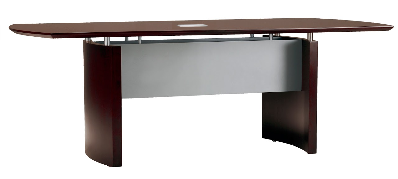 Mayline MAYNC Napoli Foot Wood Conference Table - 6 foot conference table