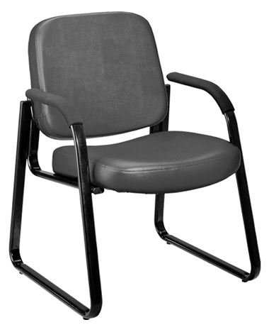 Sterling Products Str Sb304vgry Sled Base Side Chair Gray