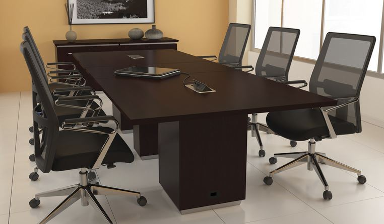 Prestige Furniture PTFTNCT Tennessee Series Foot Conference Table - 8 foot conference table and chairs