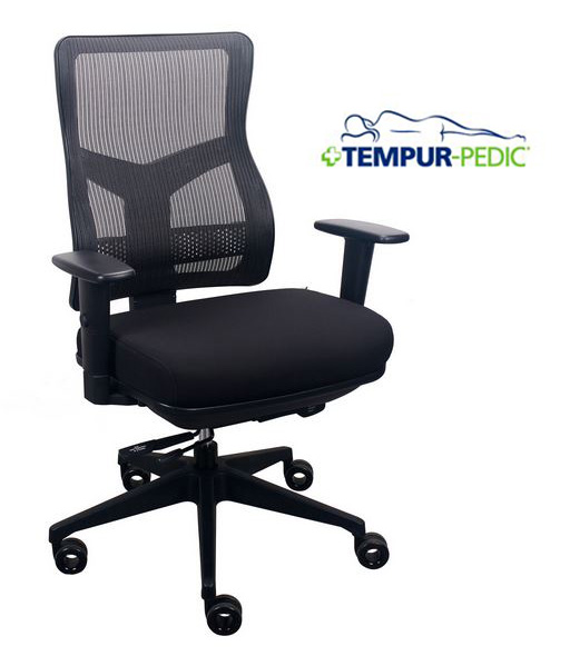 Eur Tp200 Tempur Pedic Mesh Back Office Chair