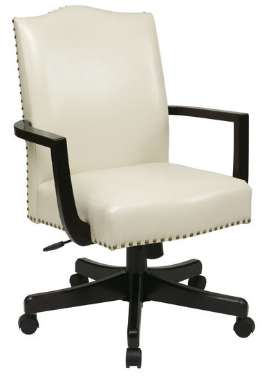 DSC-TRCTGCRM Traditional Cream Leather Executive Office Chair  sc 1 st  National Office Furniture & Delta Seating DSC-TRCTGCRM Traditional Cream Leather Executive ...