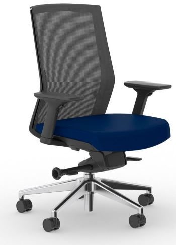 Amq Solutions Amq Z 003 Zilo Black Mesh Office Chair With