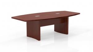 Mayline MAYACTB Aberdeen Foot BoatShaped Conference Table - 10 foot conference table