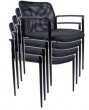 Mesh Stacking Chairs