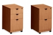 Laminate File Pedestals  (Files, Mobile & Under Counter)