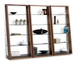 Eileen Series Leaning Shelf Bookcases
